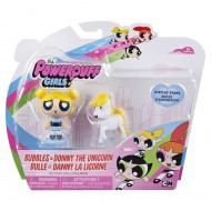 Powerpuff Girls 6028017 Powerpuff Girls - Il Superchicche Bubbles & Donny The Unicorn