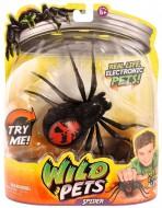 Giochi Preziosi Wild Pets Ragno Elettronico Colore Nero Creepster