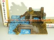Millenium Christmas  ambientazione ponte per presepe 510 ABBIAMO CAPANNE per PRESEPE IN STOK da finire DA 2 EURO CONTATTACI