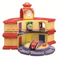 Chuggington: WOOD DOUBL  - DECKER E ROUNDHOUSE  2 IN 1 GIOCHI , toys , BRINQUEDOS ,JUGUETES , JOUETS COD 56803