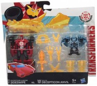 Transformers Rid Minicon Battle Packs Sideswipe vs. Decepticon Anvil B4713- B4715 di Hasbro
