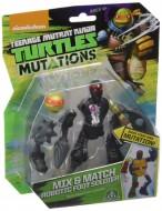 Tartarughe Ninja, Mix & Match Robotic Foot Soldier, 10 cm di Giochi Preziosi TUM03111