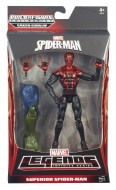 Spiderman 15 cm Marvel Legends Infinite Series A6658-A6655 di Hasbro