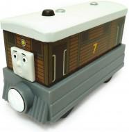 !!!! Trenino Thomas !!! Trenino Thomas and Friends personaggio Toby the tram engine in legno cod Y4081