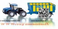 Siku 1947 New Holland T9 560 e silopower scala 1/50