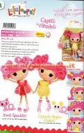 !!! LALALOOPSY !!! LALALOOPSY SILLY HAIR CON CAPELLI FLESSIBILI OFFERTA 2 PEZZI SERIE COMPLETA FORMATA DA JEWEL SPARKLERS E CRUMBS SUGAR COOKIE COD 05280