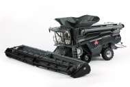 Ros trebbia Massey Ferguson Ideal T9 Agco con cingoli black edition 2 barre incluse trebbia scala 1/32 - 1-32