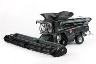 Ros trebbia Massey Ferguson Ideal T9 Agco con cingoli black edition 2 barre incluse trebbia scala 1/32 - 1-32