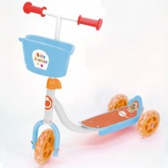 Baby Monopattino 3ruote regolabile in altezza Freno post.  SKB3231 di Bontempi