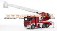 Bruder Camion Scania R-Series autopompa Pompieri con luci e suono [ cod 03590 ]