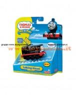 THOMAS Mattel Il Trenino Thomas T4534 - Diesel CON LUCI E SUONI REALI COD T2991