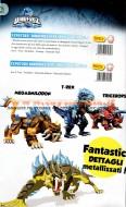 !!! Novità Dinofroz !!!! novità 2012 Dinofroz e i nemici draghi offerta serie completa 4 pezzi personaggio T-Rex , Smilodon , Generale Kobras , Generale gladius , cod 07284