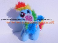 My Little Pony peluche deluxe , pupazzo  Rainbow Dash 30 cm circa