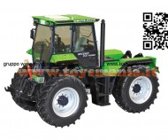 Schuco 450770600 Deutz-Fahr Intrac 6.61 Deutz Design 1/32