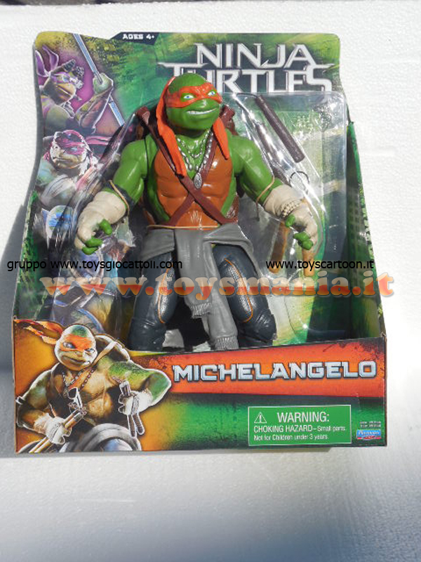 Tartarughe ninja movie michelangelo 30 cm cod gpz 91555 for Prezzo tartarughe