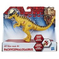 Jurrassic World Bashers and Biters Series Pachycephalosaurus B1829-B1271 di Hasbro