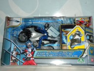 NOVITA' PERSONAGGIO KAMEN RIDER 2010!!! WING KNIGHT CON LA SUA WING CYCLE !   COD. GPZ33950