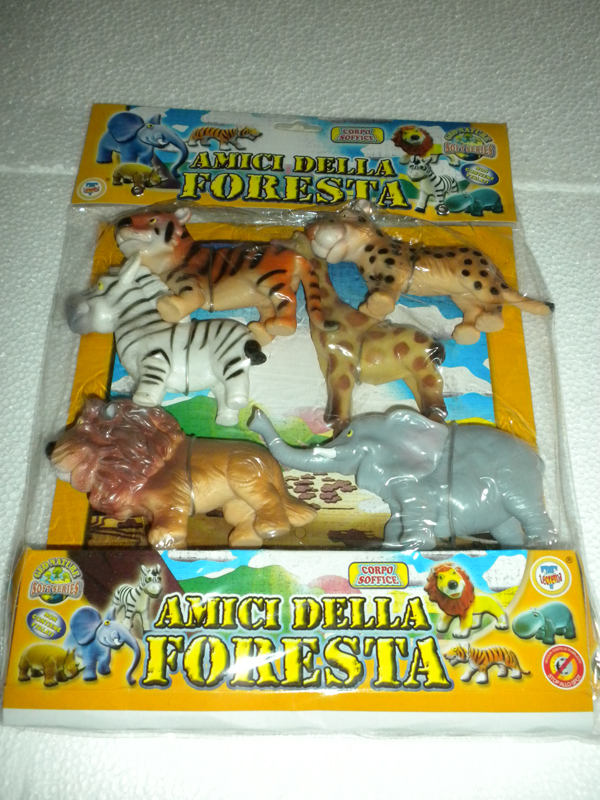 Giocattolo busta animali dello zoo savana foresta - Immagini di animali dello zoo per bambini ...