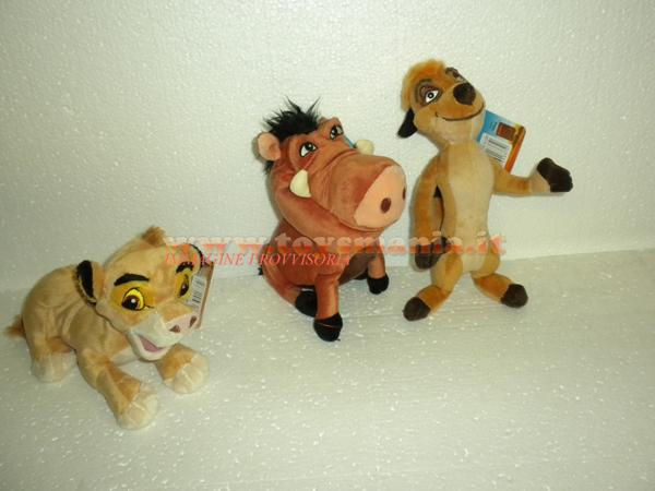 Peluche del cartone animato quot il re leone personaggi