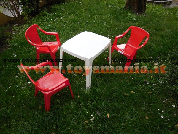 Sedia 3 Pezzi Tavolino Bianco Set Da Gioco Per Bambini