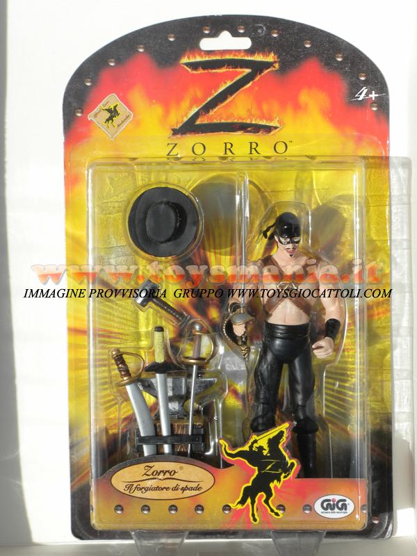 Gig Zorro personaggio ZORRO IL FORGIATORE DI SPADE giocattolo toys