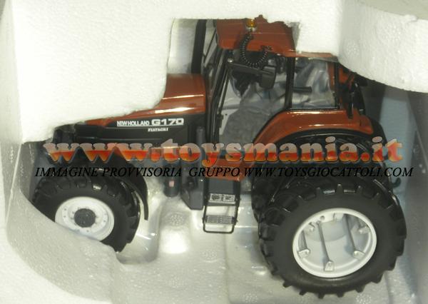 Scala Trattore G 170 In New Ros Modellino Metallo 132 Holland 67gyYfb