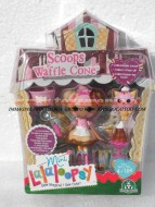 GIOCHI PREZIOSI !!!! MINI LALALOOPSY !!! LALALOOPSY MINI SUGAR AND SPICE  ,PERSONAGGIO , SCOOPS WAFFLE CONE , COD 12180