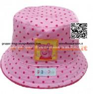 Cappellino alla Pescatora Peppa Pig rosa