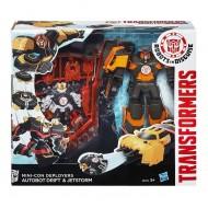 HASBRO Transformers Minicons Deployers Autobot Drift e Jetsore  B0765-B1976