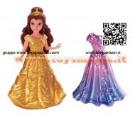 Principessa Belle , Bella  Disney con abito Magiclip di  Mattel X9408