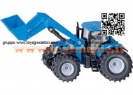 SIKU 1986 Tractor NEW HOLLAND T 7070 CON PALA SCALA 1/50
