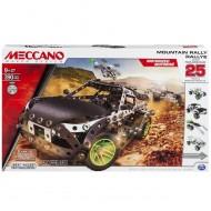 Meccano funziona a batteria 6026397 - Mountain Rally Confezione per Costruire 25 Differenti Veicoli da Rally, Pezzi in Metallo funziona a batteria