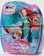 !!!! WINX !!!! WINX OCEAN, CAPELLI LUNGHISSIMI E GLITTER, INCLUSO UN LIBRO INTERATTIVO, BLOOM,   WINX MAGIC OCEAN DVD CCP 13127