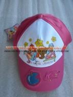 Cappello con visiera color fucsia per bambini con personaggio Winx taglia 54