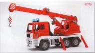 BRUDER Camion Pompieri Gru Nuovo modello 2010  cod 02770