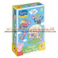 PEPPA PIG I Puzzle tondi tondi di Peppa Pig LISCIANI
