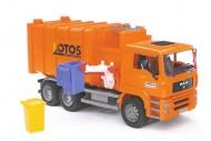 Bruder  Trasporti solidi camion del patume con caricamento laterale cod 02761