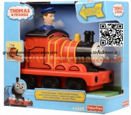 Press & Go James JAMES , JAMES AMICO TRENINO  Thomas&Friends T 2818 COD T1468