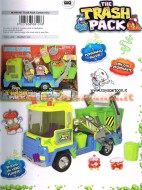 THE TRASH PACK PATTUMEROS CAMION GRU DEL PATUMECON  2 PERSONAGGI INCLUSI E FUNZIONANTE NCR 68107