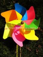 Girandole giravento, mulini fluorescenti  Art 406/f Ø Cm. 70