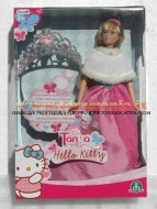 MIA TANYA HELLO KITTY PRINCIPESSA DELUXE GIOCHI PREZIOSI ! CORONCINA DI HELLO KITTY INCLUSA! MODELLO COLOR ROSA COD.18395