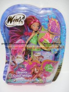 FLORA SIRENIX CHANGING COLOUR DI GIOCHI PREZIOSI - MAGICA SIRENIX CCP13151 CON  EXTENSION DA COLORARE