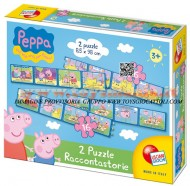 !!! PEPPA PIG PEPPAPIG !!! 2 Puzzle Racconta storie Peppa Pig Lisciani 41862