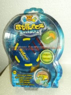 STIKEEZ INVADERZ NOVITA' UFO LANCIA STICKEEZ COLORE BLUE COD 470577