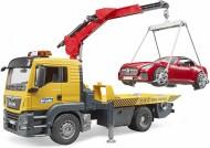 Bruder  03750 Man Tgs Trasporto Bruder Roadster Con Luci E Suono   [cod 03750]