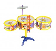 Bontempi DS 3341.2 - Drum Set 3 Tamburi e Piatto