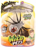 Giochi Preziosi Wild Pets Ragno Elettronico Colore Grigio Wolfgang