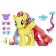 Hasbro - My Little Pony Fluttershy, Criniera Magici Colori