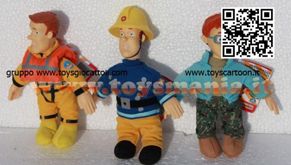 Elicottero Sam Il Pompiere : Sam il pompiere peluche cm offerta personaggi diversi