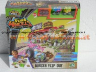 THE TRASH PACK I PATTUMEROS 4 SERIE Trash Wheels Burger Flip Out Playset NCR 217800